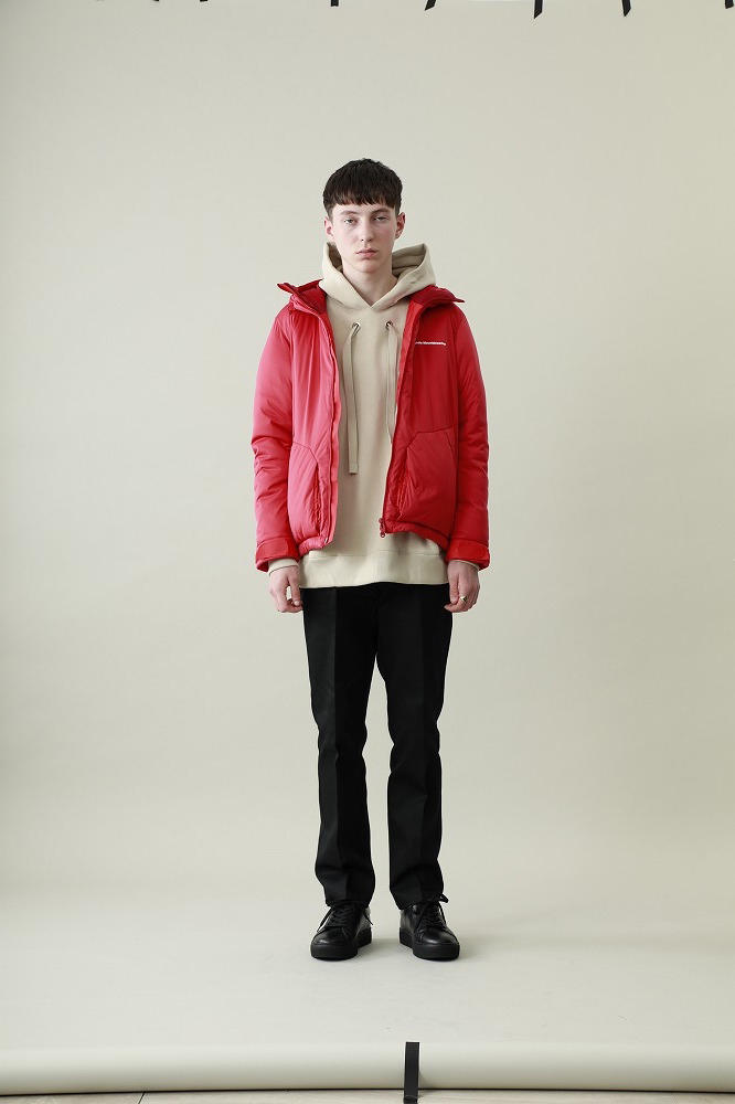 STUDIOUS x White Mountaineering Fall Winter 2018 Jackets Ma 1 Bomber Down Jacket red black navy khaki