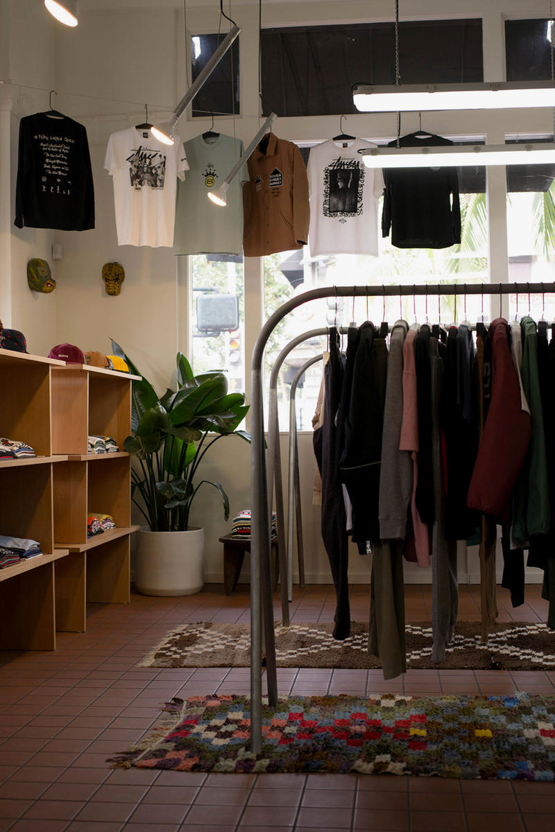 Stussy Archive Store Santa Ana California Opening Vintage hoodie t shirt accessories collaborations