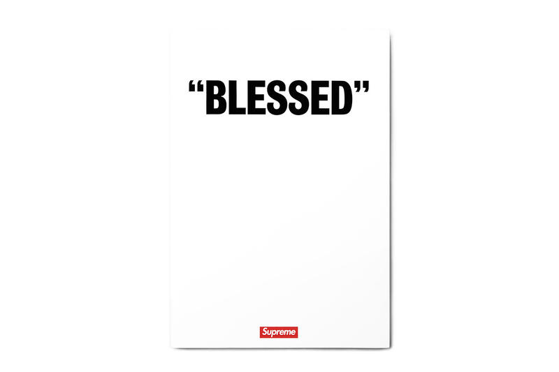 """Supreme """"BLESSED"""" DVD Front Cover"""