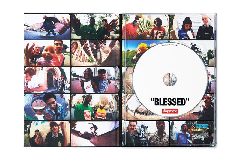 "Supreme ""BLESSED"" DVD Inside Disc Lining"