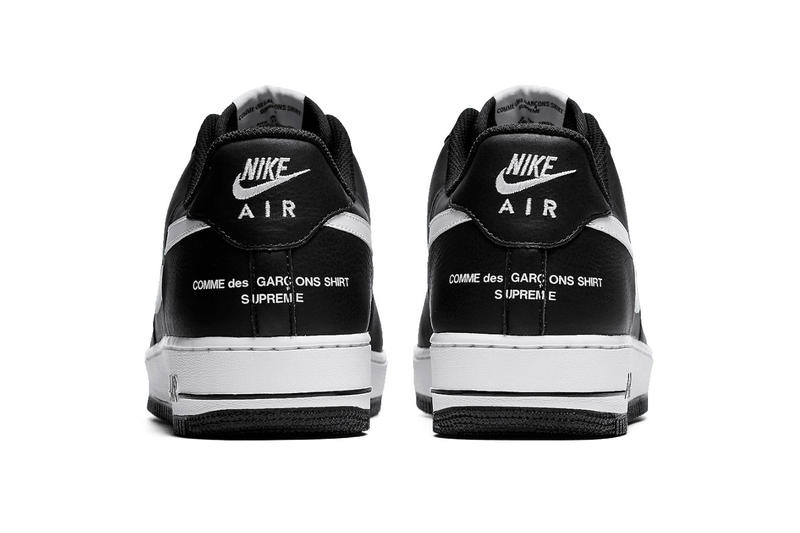 buy online 04737 aeb6c Supreme x CdG Shirt Nike Air Force 1 Release | HYPEBEAST