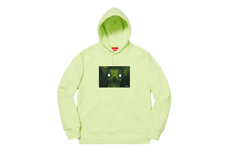 "Supreme x Chris Cunningham ""Rubber Johnny"" Capsule Collection Chihuahua Hoodie T-Shirt night Vision"