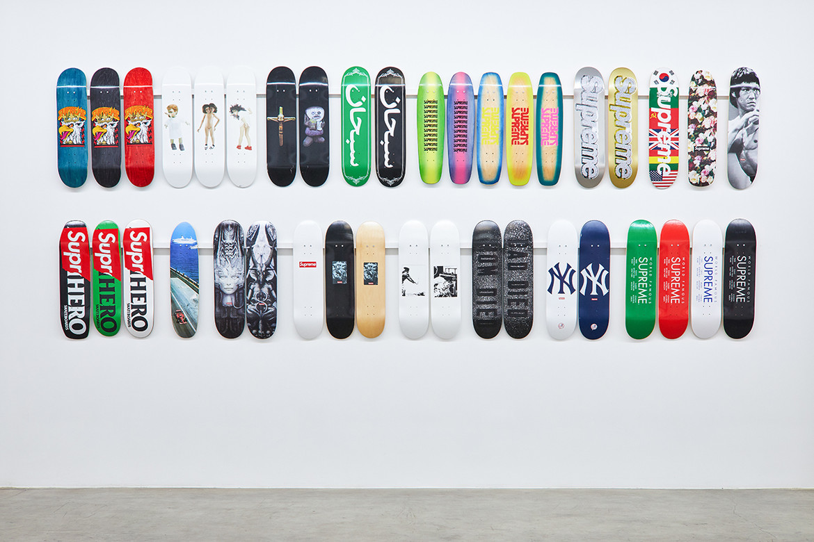 11d545ef Every Supreme Skate Deck Appears in