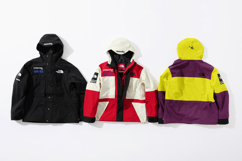 Supreme x The North Face Fall 2018 Collection jackets outerwear coats GORE-TEX Cordura bag new york tokyo