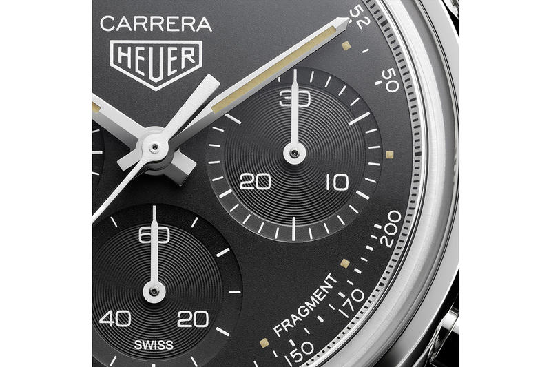 Tag Heuer Carrera Calibre Heuer02 Watch Details Automatic Chronograph Hiroshi Fujiwara Special Decoration Cop Purchase Buy