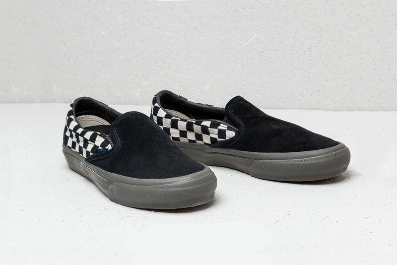 Taka Hayashi Vans Checkerboard SK8-Hi Info shoes California sneakers kicks footwear skateboarding shoes