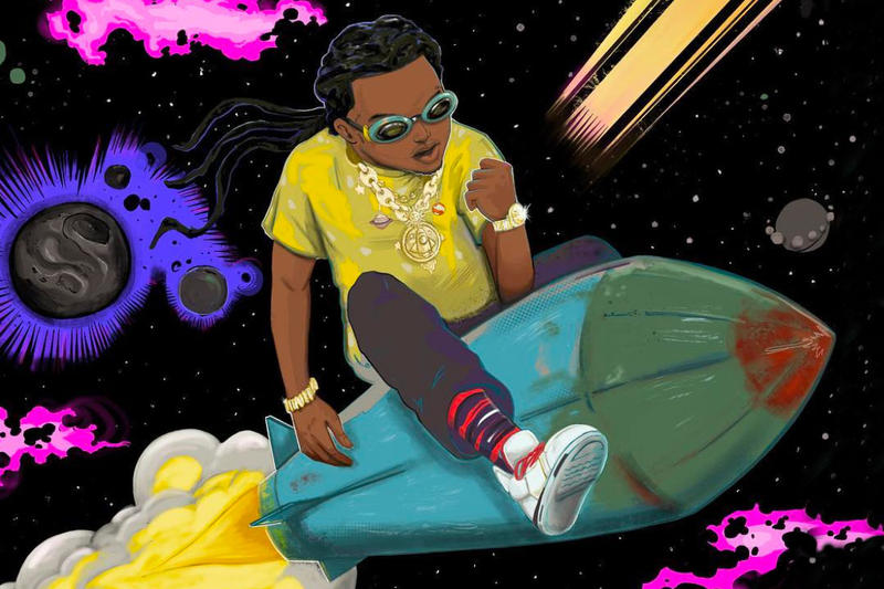 Takeoff The Last Rocket Solo Album Release Date Cover Art Title Migos debut Martian She Gon Wink None to Me Vacation Last Memory I Remember Lead the Wave Casper insomnia Infatuation Soul Plane Bruce Wayne