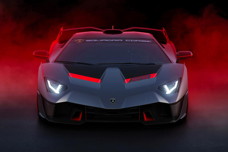 Lamborgini SC18 Alston Official Look Road Legal Track Car Squadra Corse Red Black Centro Stile
