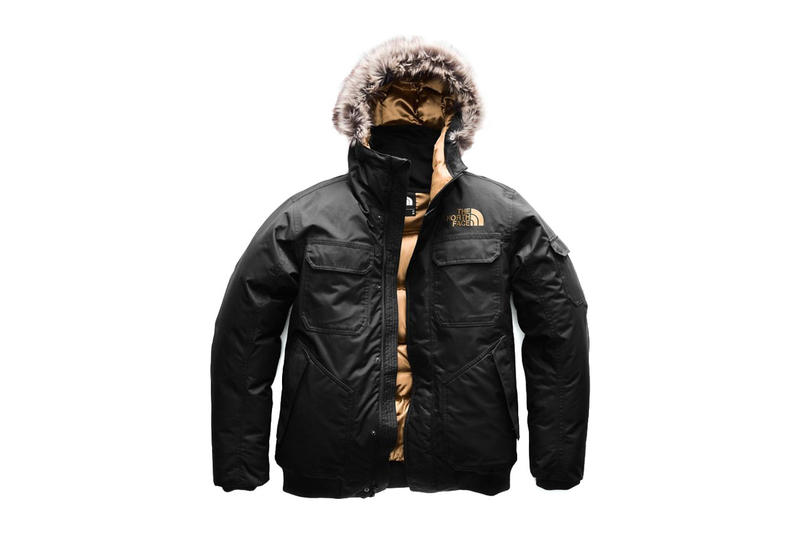 The North Face Copper Capsule Collection Release date drop info november 19 2018 web store nuptse 1996 gotham jacket coat bronze shiny metallic accent colorway black fur