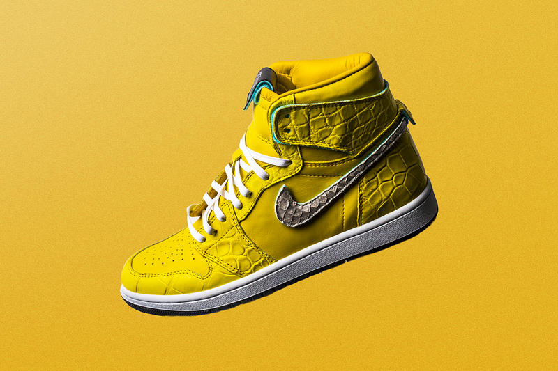 The Shoe Surgeon air jordan 1 nike canary yellow diamond supply co dunk low  yellow sneaker d672e1953