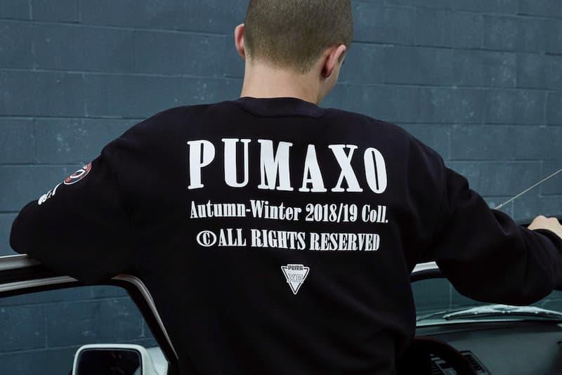 The Weeknd x PUMA XO Fall/Winter 2018 Collection PUMA x XO terrain sneaker release date info price pebble lookbook