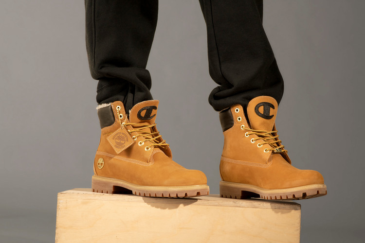 a8df6934c3e Timberland   Champion Launch New Apparel and 6-Inch Boot Collection