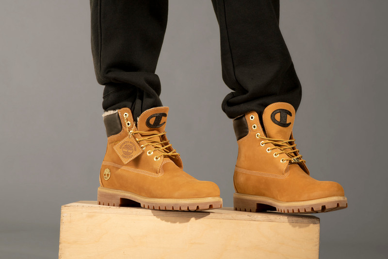 470acad4e1a Timberland   Champion Launch New Apparel and 6-Inch Boot Collection ...