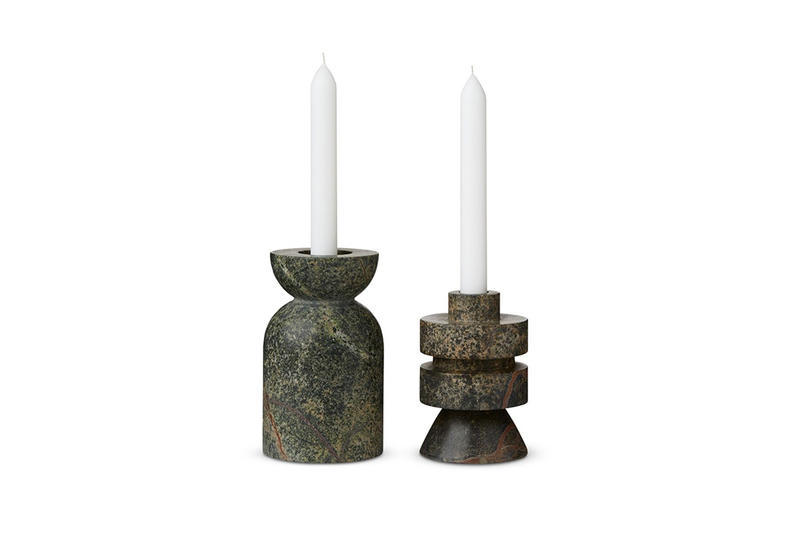 Tom Dixon Rock Homeware Info Stoneware Candles Chopping Boards weight holders design carve interior design