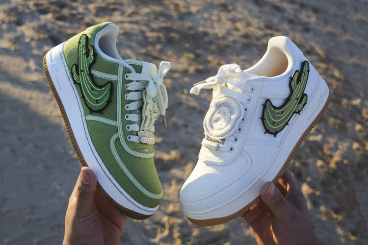 2ac5f20b03b Travis Scott Teases New Potential Nike Air Force 1 Collaboration · Are  These the Best