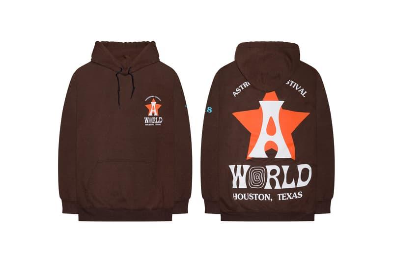 11c70c3bfe0c Travis Scott Astroworld Festival Merch Release hoodie t shirt long short  sleeve Houston Texas Hat bottle