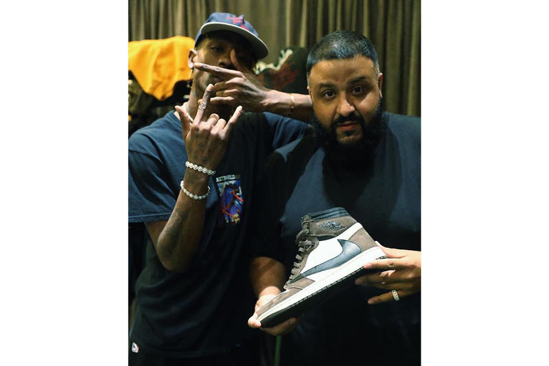 Travis Scott DJ Khaled Air Jordan 1 Cactus Jack Teaser