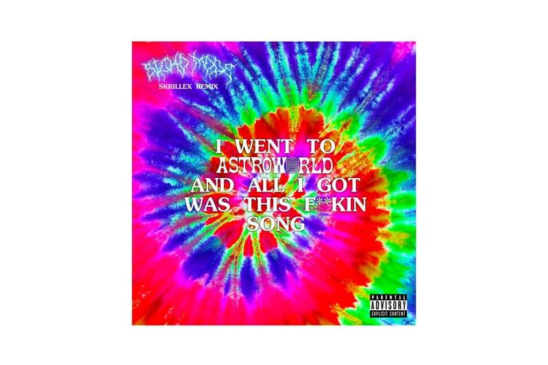 Travis Scott Skrillex Sicko Mode Remix T shirt