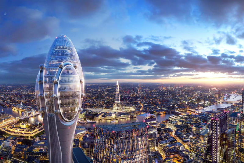 foster partners the tulip attraction london england tower architecture designs sadiq khan building skyscraper cancelled scrapped reason why