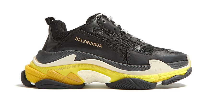 Balenciaga s Triple S Surfaces With Faux Hypebeast
