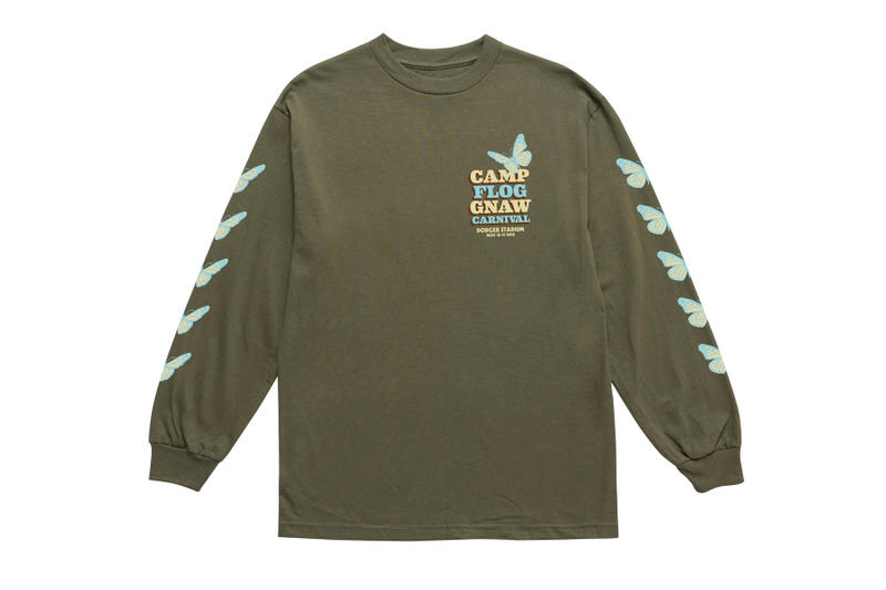 Tyler, The Creator Camp Flog Gnaw Carnival 2018 Merch baseball events golf wang hoodies t shirts Nalgene