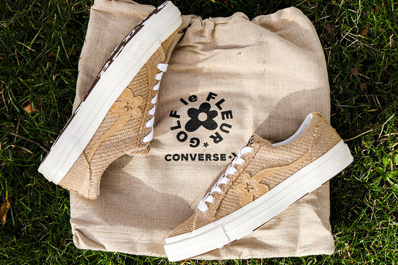 "GOLF le FLEUR* x Converse ""Burlap"" One Star Closer First Look Tyler, The Creator Shoes Trainers Sneakers Kicks Footwear Cop Purchase Buy Release Date Details November 15 2018"