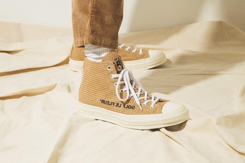 Golf Le Fleur X Converse Burlap Pack On Foot Hypebeast