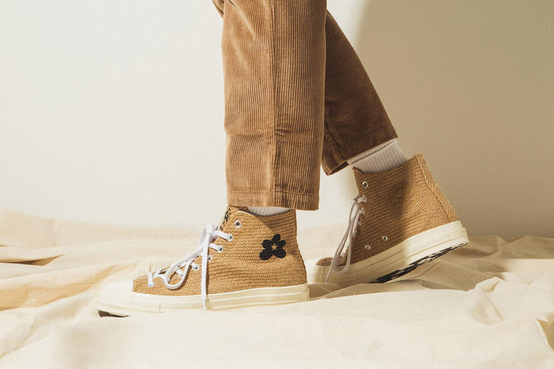 "GOLF le FLEUR* x Converse ""Burlap"" Pack On Foot Closer Look Tyler, The Creator Shoes Trainers Kicks Sneakers Footwear Cop Purchase Buy HBX Online Web Store"