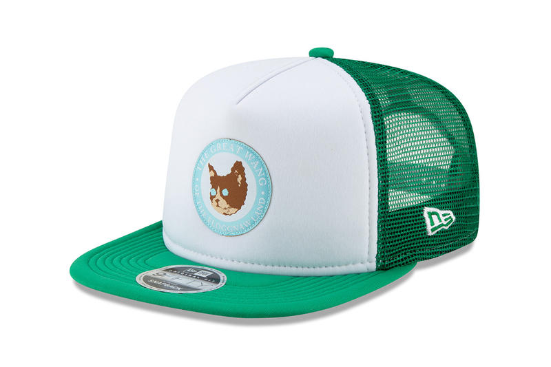 Tyler The Creator New Era Camp Flog Gnaw Hats fedora ranger cap wool brown bucket cap trucker cat logo embroidery november 10 11 2018 release date buy sell web store