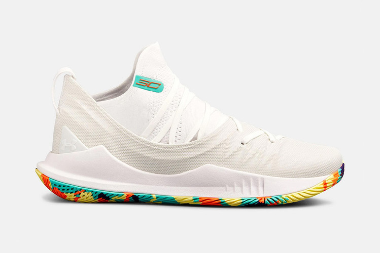 brand new 92d45 c1f65 Under Armour Gets Colorful With the Curry 5