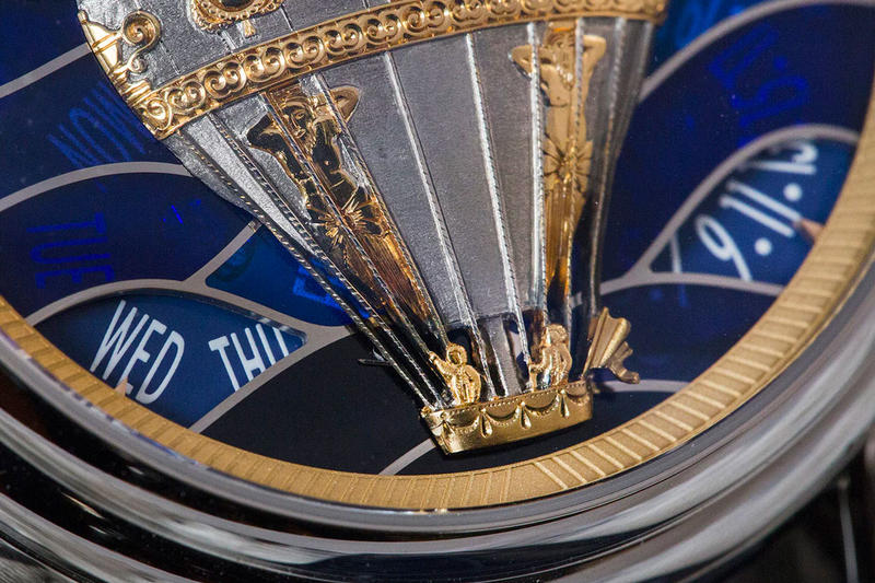 Vacheron Constantin Métiers d'Art Les Aérostiers watches timekeeping luxury Swiss french hot air balloon gold handmade