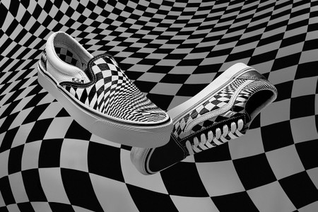 "END. & Vans Rework the Iconic Checkerboard Pattern for New ""Vertigo"" Capsule"