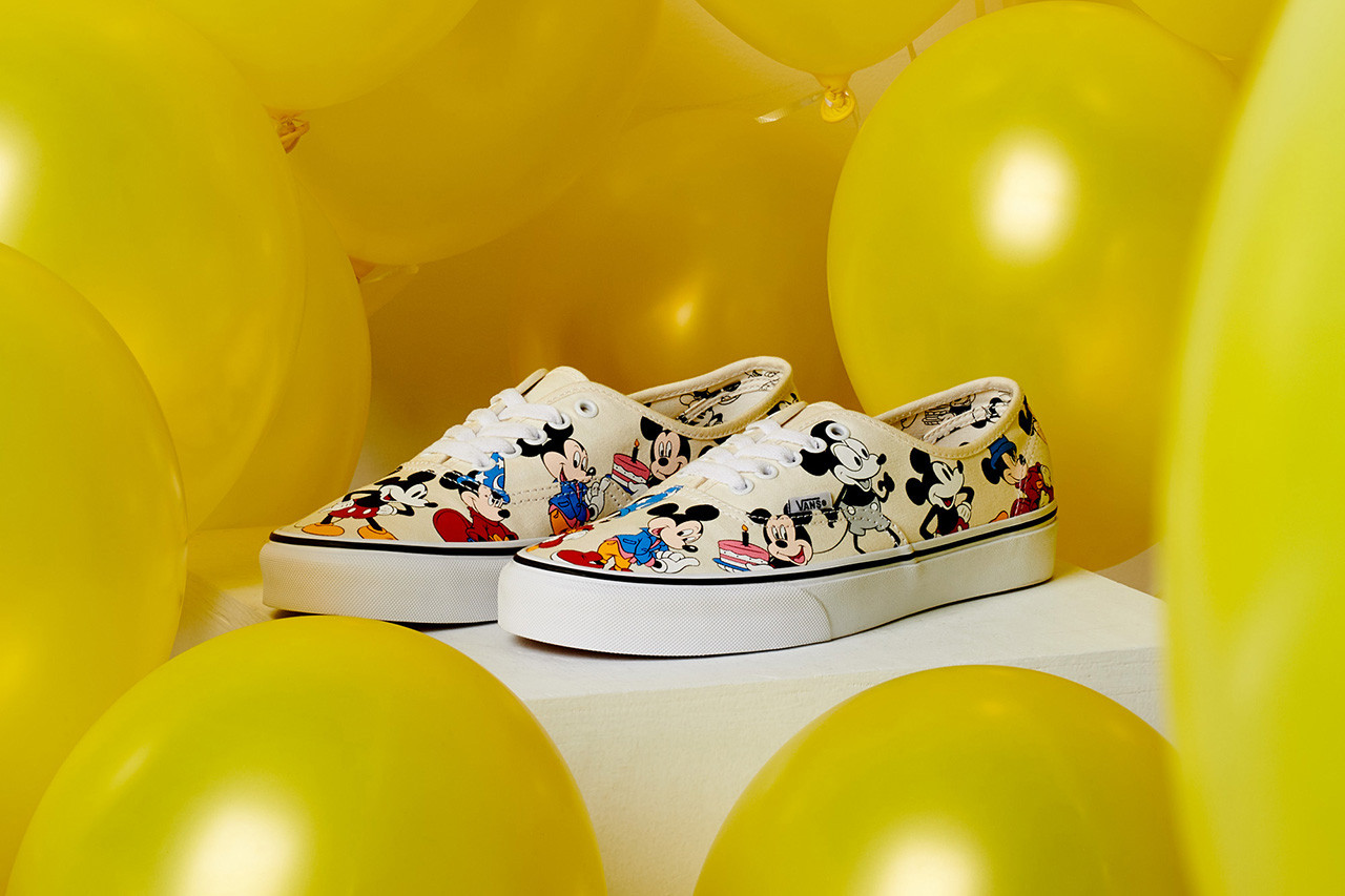 Disney x Vans Mickey Mouse Holiday 2018
