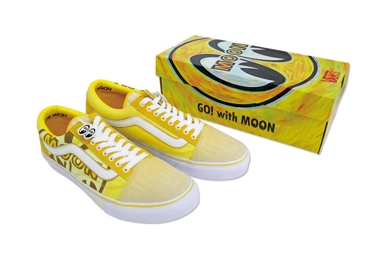 4c3bd056b45599 Vans x Mooneyes 2018 Yokohama Capsule Collection Old Skool Authentic Custom  Car Road Show