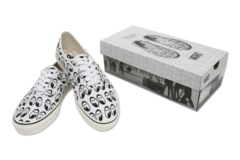 Vans x Mooneyes 2018 Yokohama Capsule Collection Old Skool Authentic Custom Car Road Show