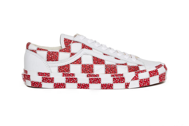 Vans for Opening Ceremony Quilt Pack Release Date info price og vans style 36 sneaker black white red colorway