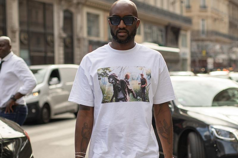 Virgil Abloh Wearing OFF-WHITE Varsity Jacket