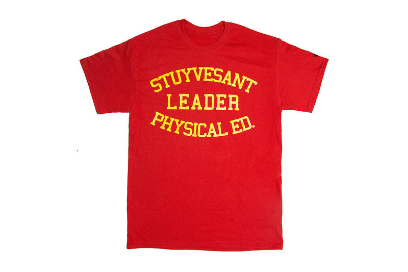 f20d76148669 Virgil Abloh Social Studies new york Limited Tee Shirt design print logo  stuyvesant leader physical education