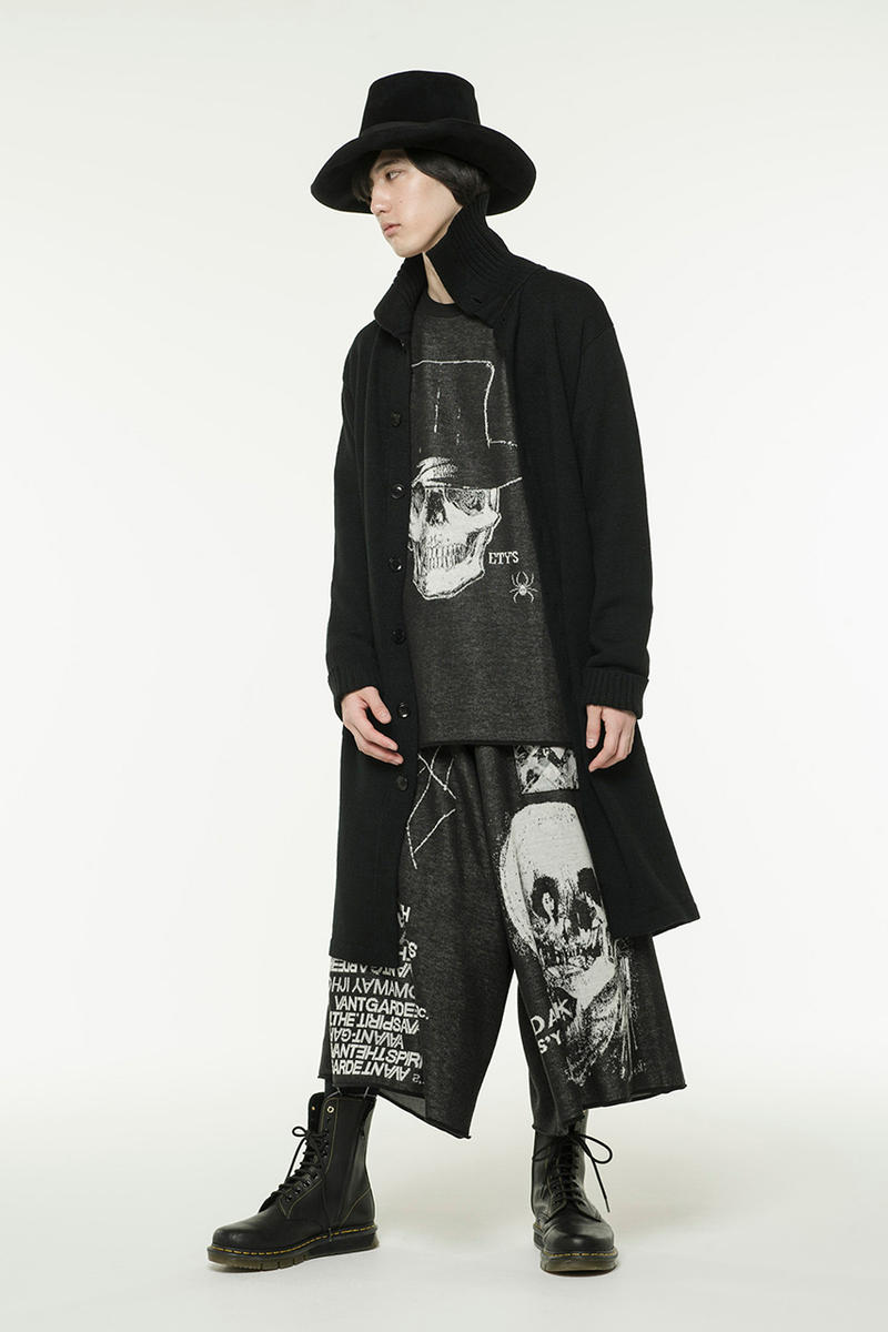 S'yte Yohji Yamamoto Jacquard Knit collection reissue 6.1 the men release sweater hakama pant culotte men women japan the store november 2018