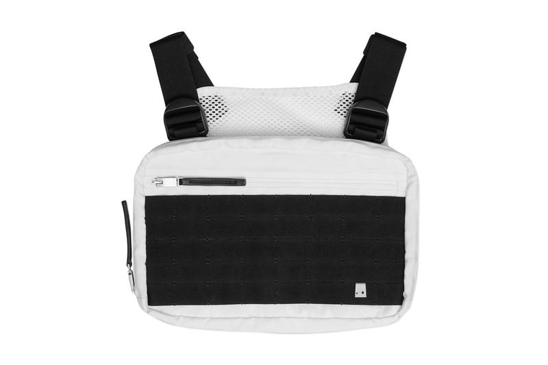 1017 ALYX 9SM Chest Rig Bag Contrast black white fall winter 2018 studio