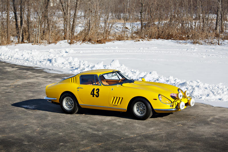 1964 Ferrari 275 GTB Prototype Gooding Company Auction cars supercar sports luxury Italian auctions