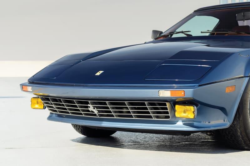 1971 Ferrari 3365 GTB/4 Daytona NART Spider Giovanni Michelotti auction bid car automobile vintage price sothebys luigi chinetti