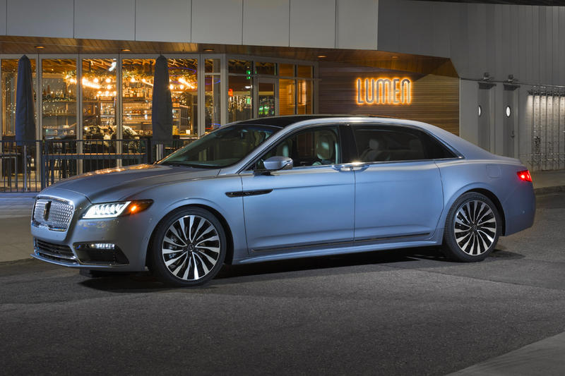 2019 Suicide Door Special Edition Lincoln Continental 80 birthday anniversary Coach Door Edition