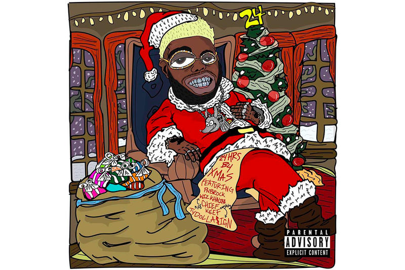 24hrs B4 XMAS EP Stream Ty Dolla $ign Wiz Khalifa Chief Keef PnB Rock New Songs Tracks 2018 MORNING INTERGRITY HUH keys to my ride FITNESS 100,20,10