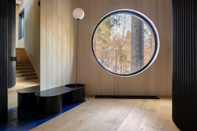 le atelier kino house russia cabin wood interior design cabin