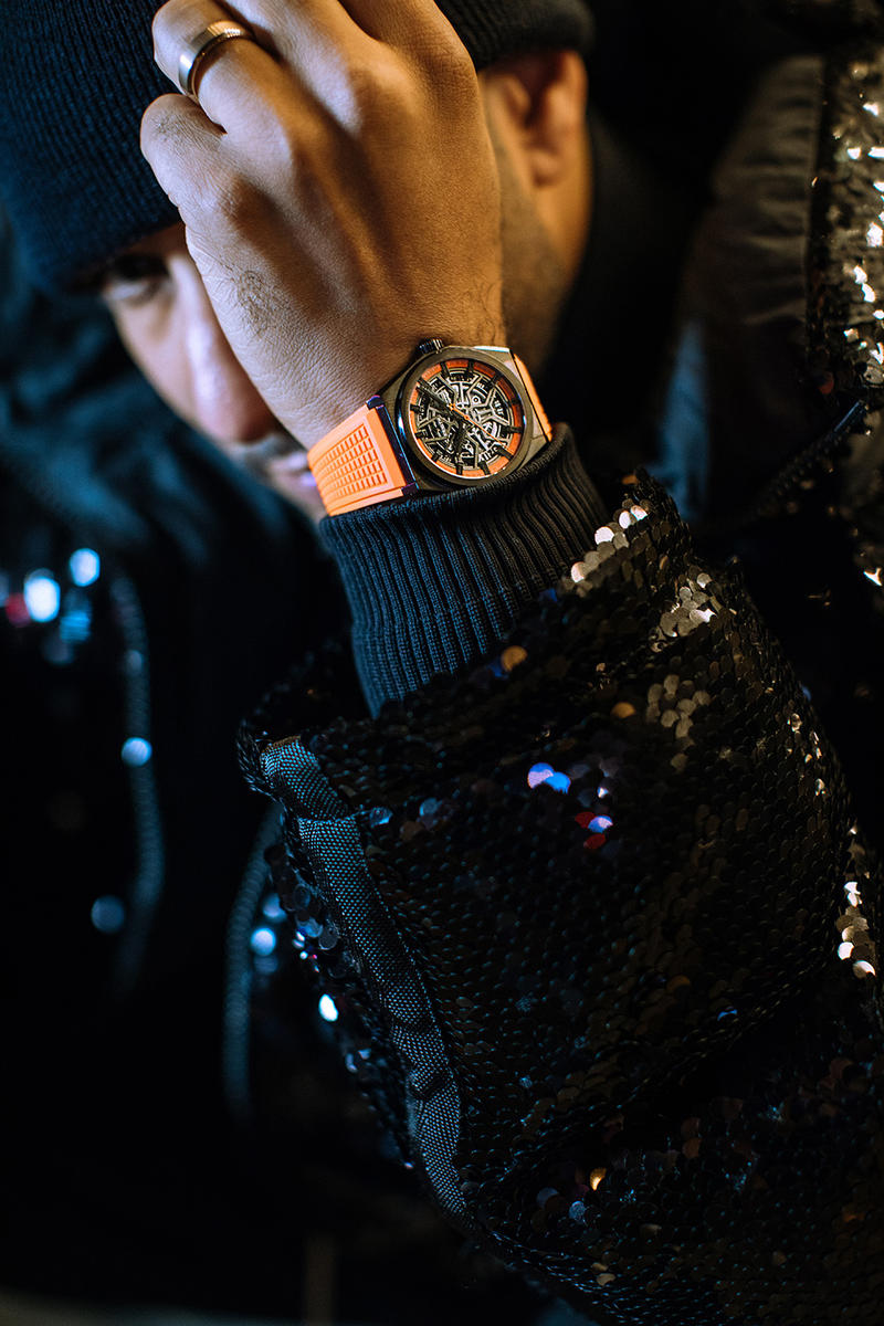 Swiz Beatz Zenith Watches DEFY Collaboration