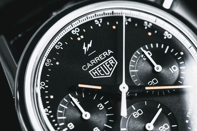 Fragment design Hiroshi TAG Heuer Carrera 02 watches hiroshi fujiwara timepiece rare collectors fragment bolt movement automatic watches mechanical