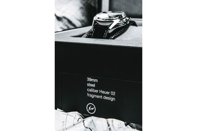 Fragment design Hiroshi TAG Heuer Carrera 02 watches hiroshi fujiwara timepiece rare collectors fragment bolt movement automatic watches mechanical