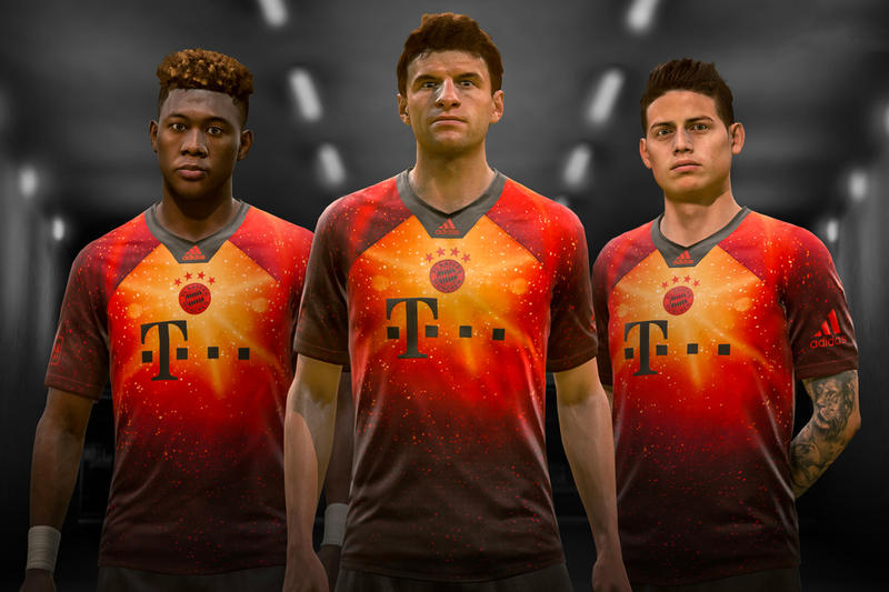 adidas & EA Sports Reveal Limited Edition Jerseys real madrid juventus bayern munich