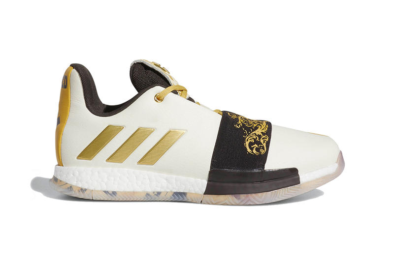 b075e487f5ea adidas harden vol 3 wanted release info footwear james harden the beard  stepback white gold black